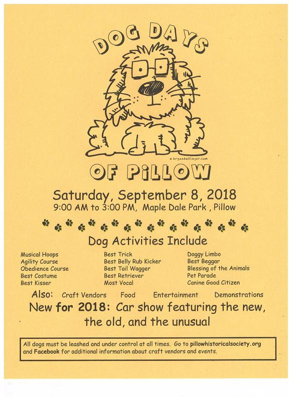 Dog Days Of Pillow - The Pillow Historical Society